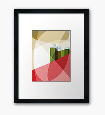 House on Red Hill Framed Print