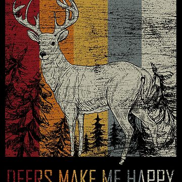Deer favorite animal by GeschenkIdee