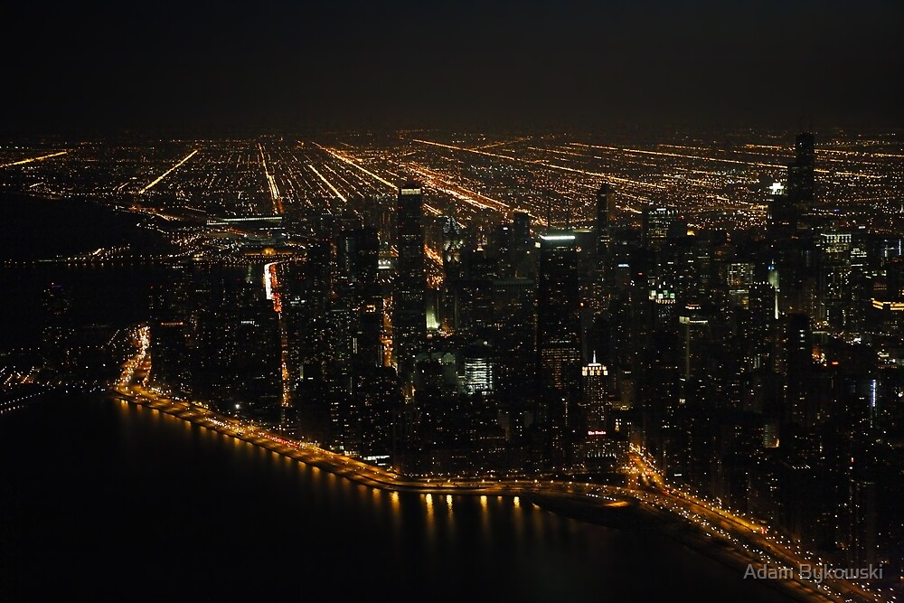 The Grand View - Aerial Photography by Adam Bykowski