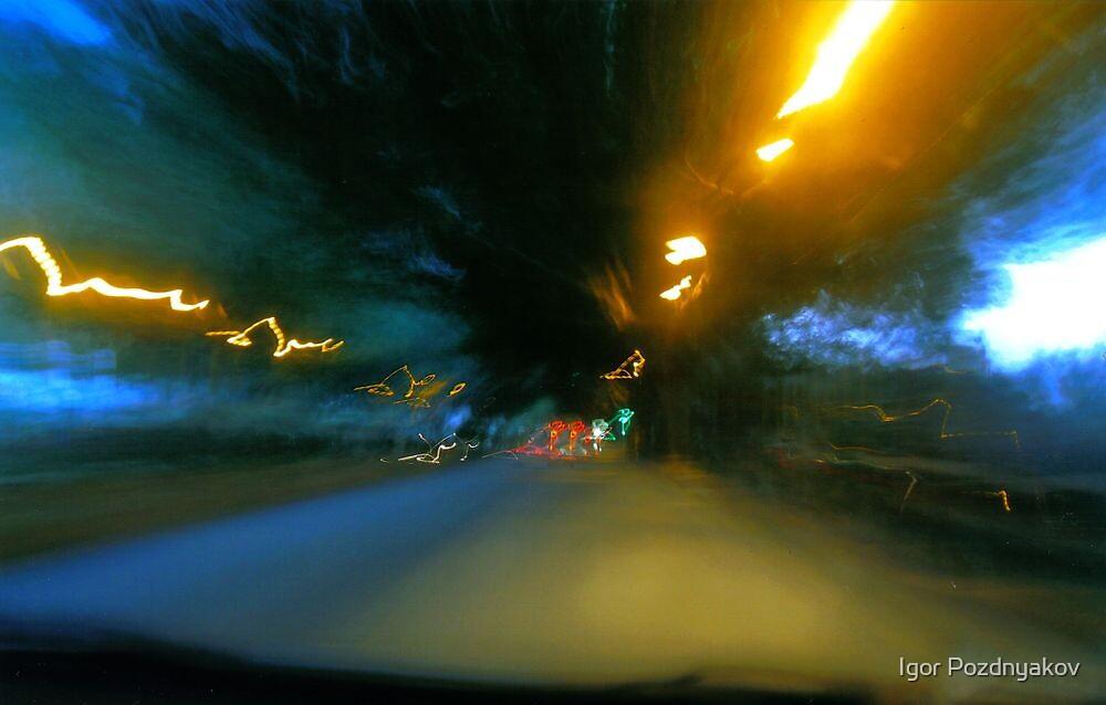 Tunnel Blur II by Igor Pozdnyakov