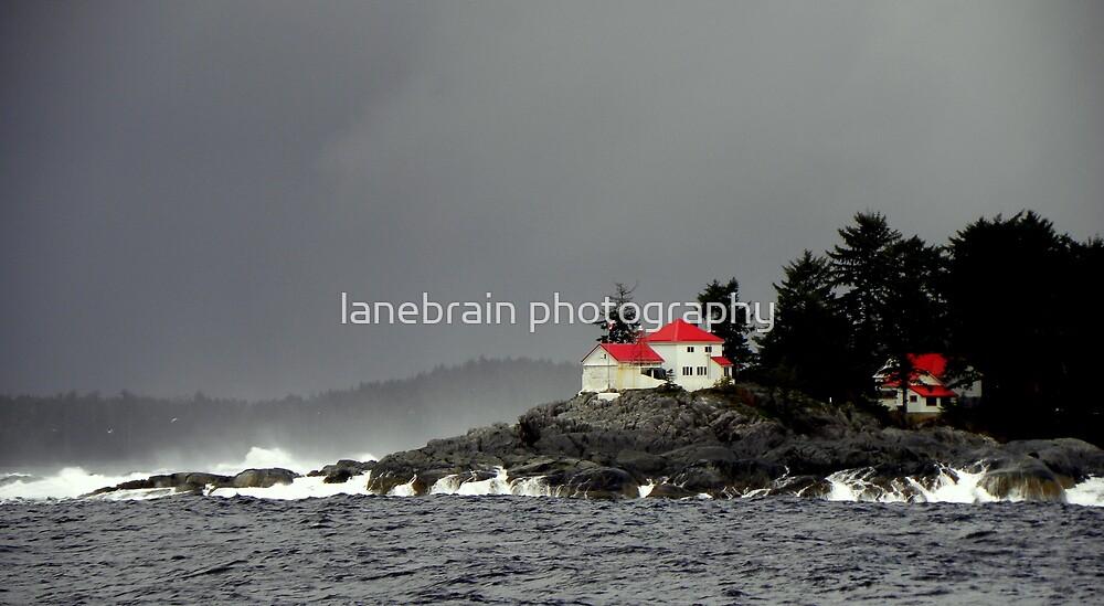 Coast Guard Station ~ Inside Passage, Canada ~ by lanebrain photography