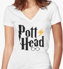 Head Women's Fitted V-Neck T-Shirt