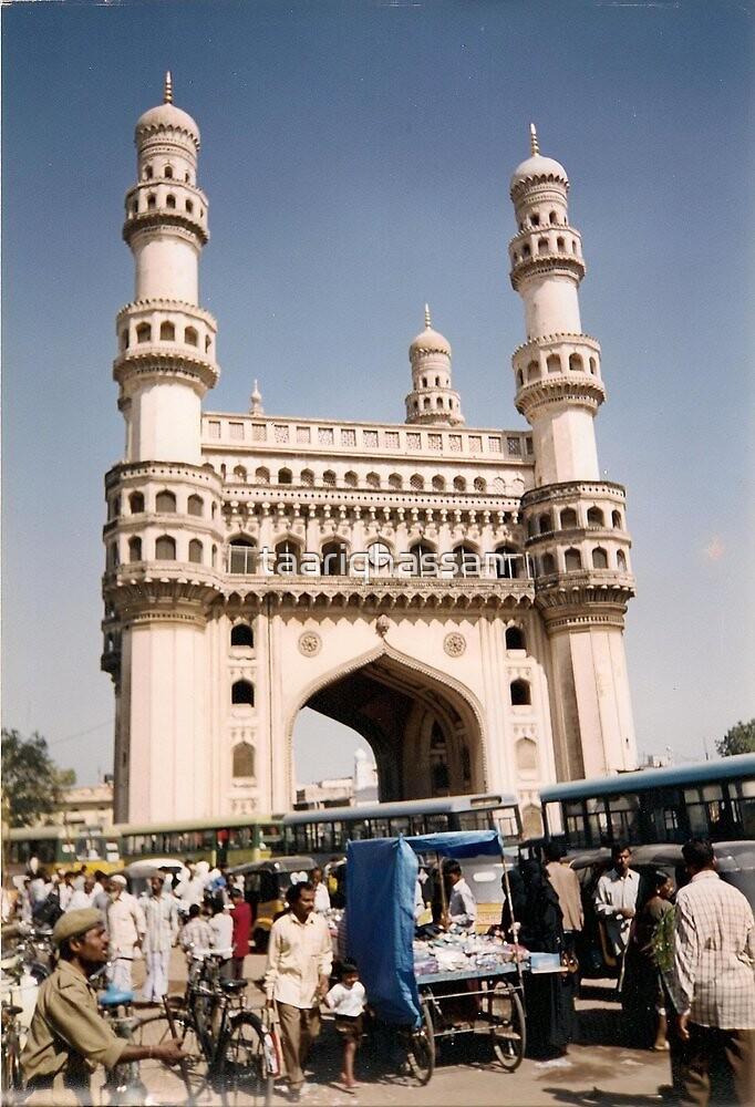 char minar  Hyderabad   India  1999 by taariqhassan