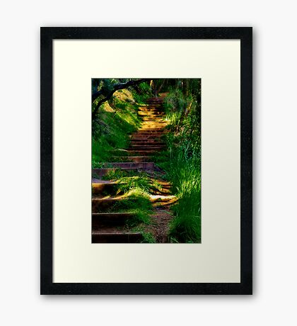 """""""Your Word"""" Framed Print"""