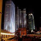 Star Ferry Terminal at Night, Hong Kong by mklau