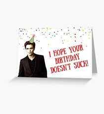 Tarjeta de felicitación Twilight Saga, tarjeta de cumpleaños, tarjeta de feliz cumpleaños, tarjetas de felicitación meme