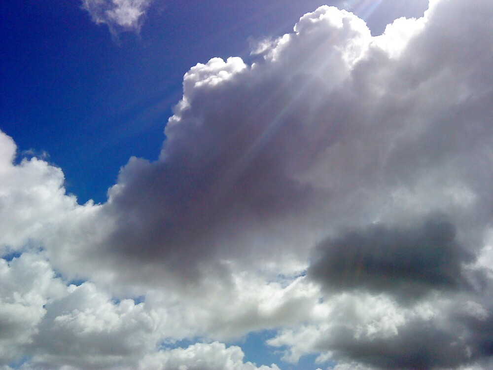 light rays from heaven..lol by rita0009