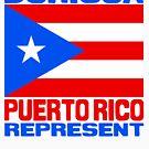 Puerto Rico represent by kaysha