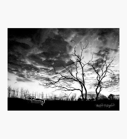 San Jacinto (Desert Sunset) Photographic Print
