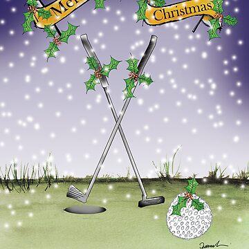 Happy Christmas Golfers by tonyfernandes1