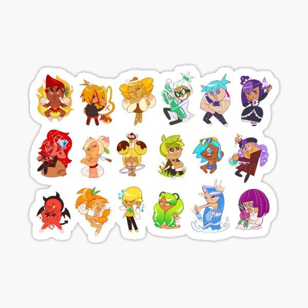 cookie rainbow Sticker