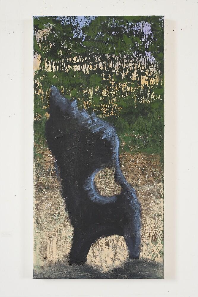 The Dog tree stump by Roza Ganser