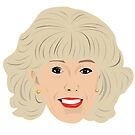 Coronation Street - Audrey Roberts with hmmm by gregs-celeb-art