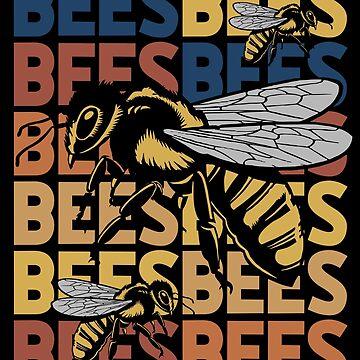 Bee animal rights activist by GeschenkIdee