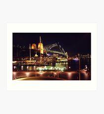 Sydney Harbour Bridge, Australia Art Print