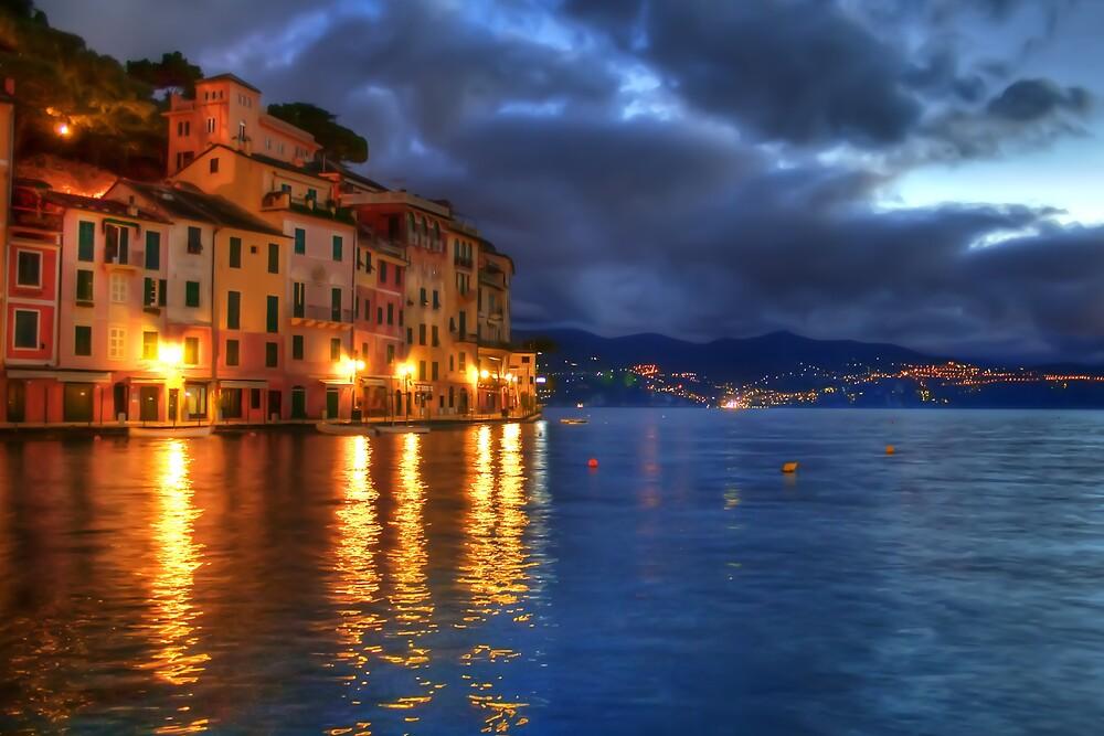 Portofino night by oreundici