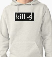 kill -9 Pullover Hoodie