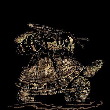 Bee turtle by GeschenkIdee