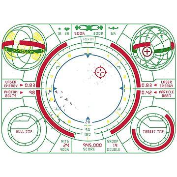 The Last Starfighter HUD by futuristicvlad