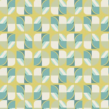 Vintage-Retro Pattern-Classic Colours by broadmeadow