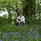 In the Bluebells by AnnDixon