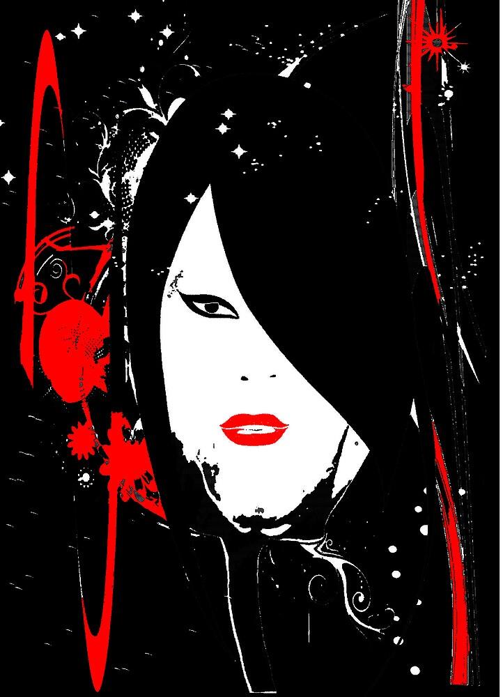 Red woman by alaskaman53