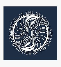 Daughter of the Dragon Fotodruck