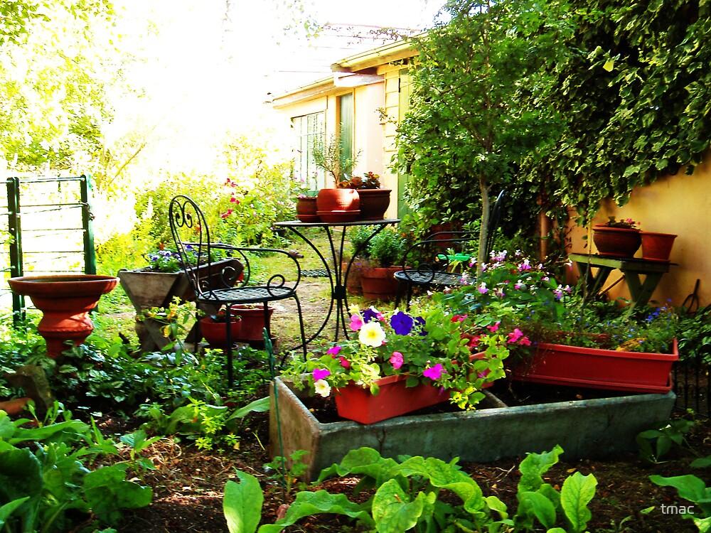 Cottage Garden by tmac