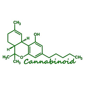 Cannabinoid Molecule by gracefullizard
