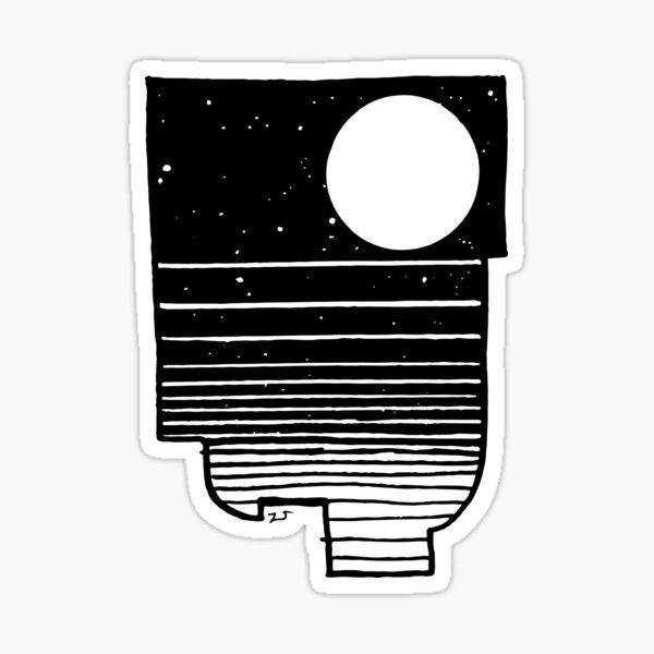 In Noctem Sticker