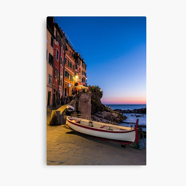 Sunset by the Seaside Canvas Print
