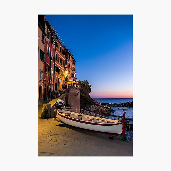 Sunset by the Seaside Photographic Print