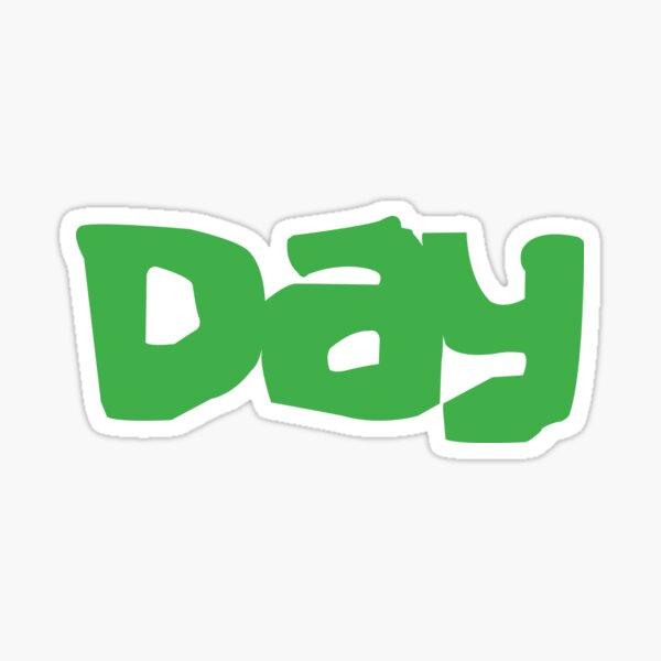 "Green ""Day"" Sticker"