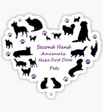 Love of Pets Typography Sticker