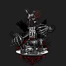 KILL WHAT YOU EAT ...WEENIE! (go vegan!)  von Roland Straller
