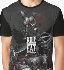 KILL WHAT YOU EAT ...WEENIE! (go vegan!)  Grafik T-Shirt