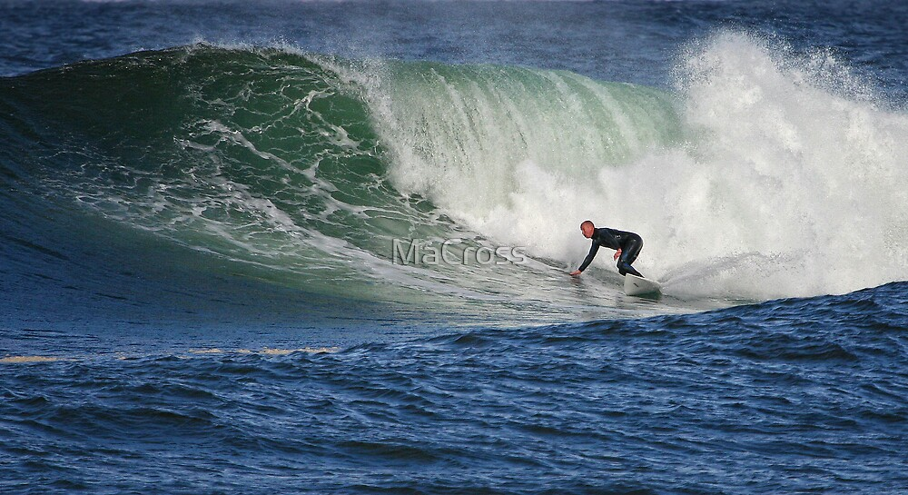 Thurso East Surfing by Martina Cross