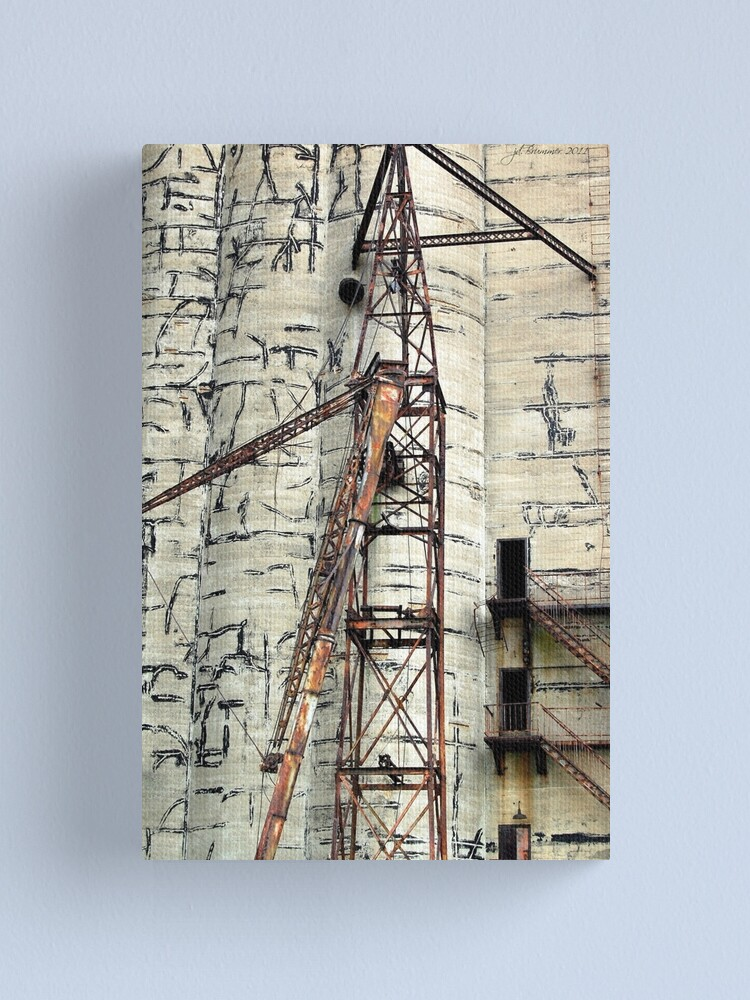 Alternate view of Bygone of Buffalo Canvas Print