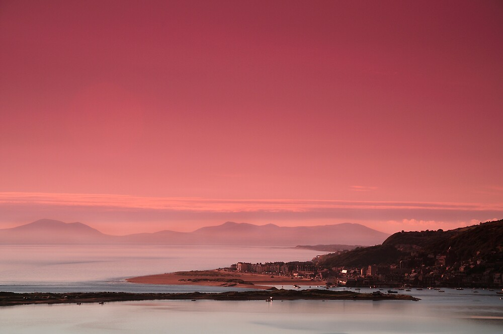 Barmouth Sunset by Mat Mackenzie