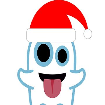 Cute Santa Ghost Ghoul Funny Halloween by Discofunkster