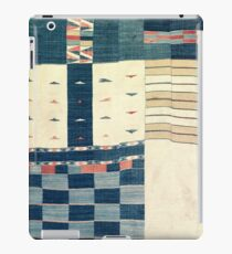 Tribal khasa | Vintage Checkerboard Design Inspired Gifts | 19th Century Textile iPad Case/Skin