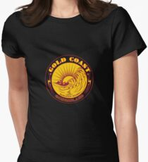 GOLDCOAST, QUEENSLAND, SURFING Women's Fitted T-Shirt