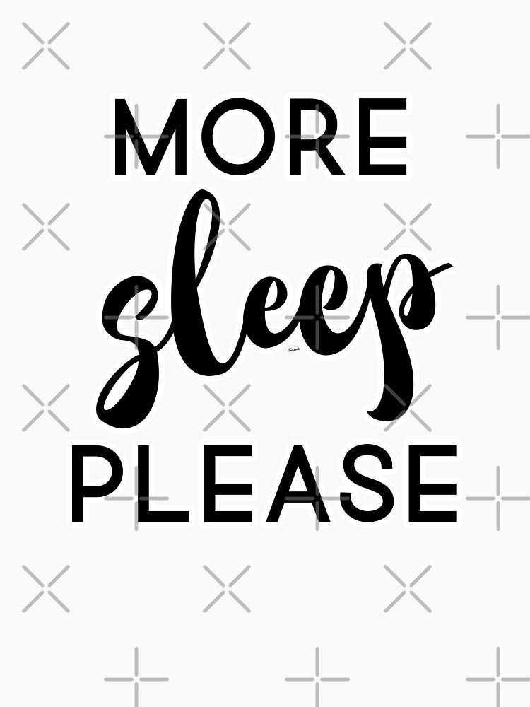 More Sleep Please by raineofiris