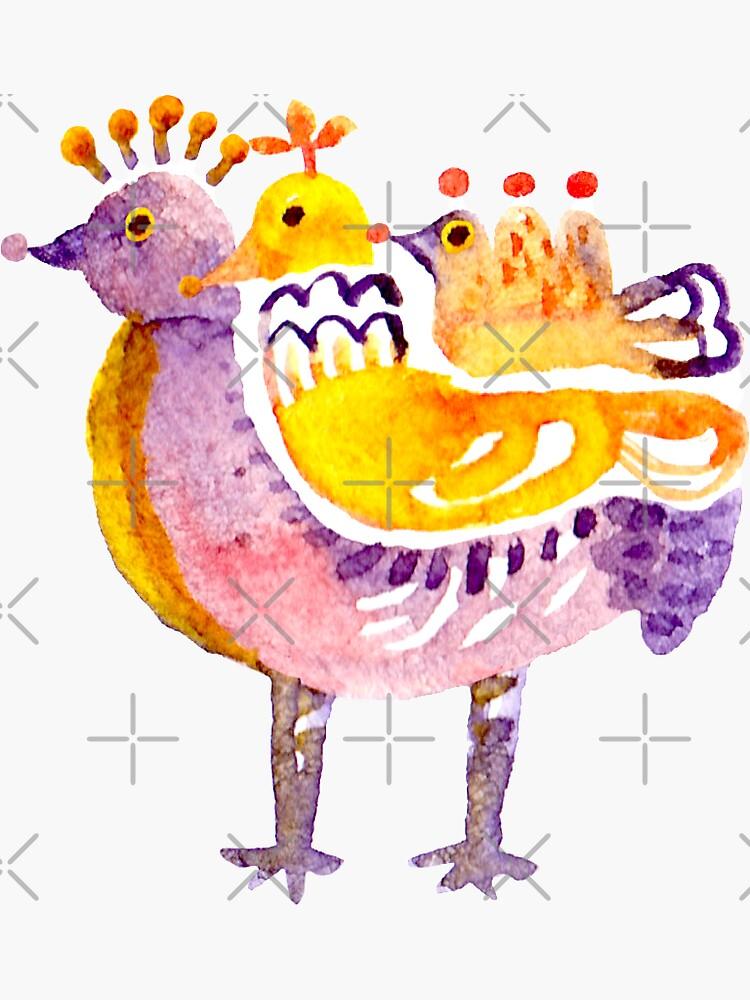 Strange Birds  by whya