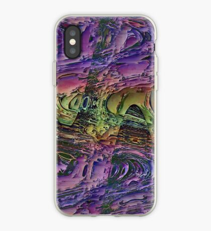 Psychedelic Pattern   Acid Wash II iPhone Case