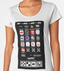 wp phone Women's Premium T-Shirt