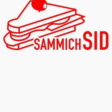 sammichSID (red print) by Wilba