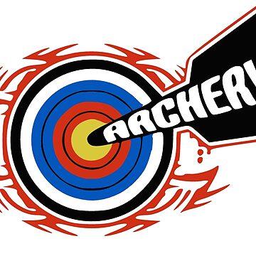 Archery Target by realmatdesign