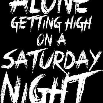 BMTH - Alone Getting High on a Saturday Night by seriesclothing