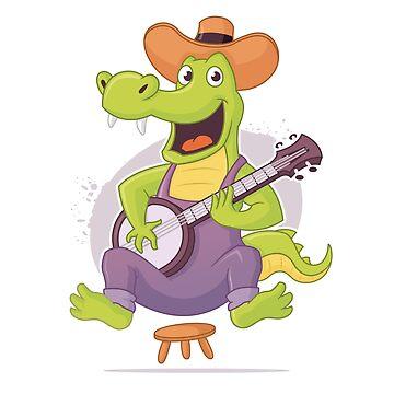 Bluegrass Alligator by zoljo